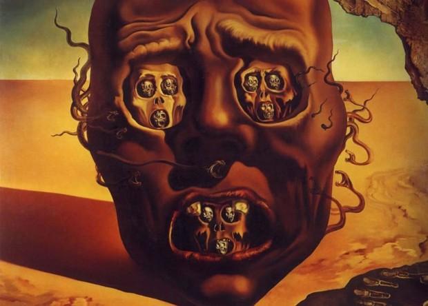 La Cara de la Guerra (1940) Salvador Dalí