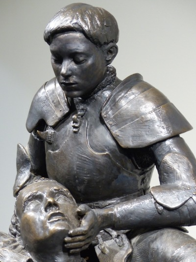 pieta of joan of arc