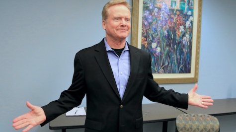 Former Virginia Sen. Jim Webb speaks at an event at the public library in Council Bluffs, Iowa, Thursday, April 9, 2015. Jim Webb and Martin O'Malley are both in Iowa, trying to establish themselves as the alternative to Hillary Rodham Clinton. (AP Photo/Nati Harnik)